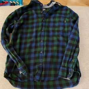 Eddie Bauer Flanel Shirt Size Large